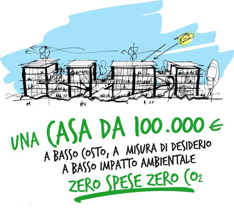 Abitare il futuro a 100k: verde, sostenibile e a basso costo